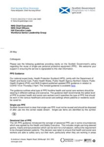 thumbnail of 2020-05-26 CNO letter on Reuse of PPE FINAL V1.0