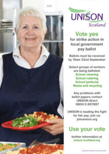 thumbnail of 27 08 21 local government strike poster caterer (less ink) A3