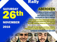 Aberdeen St Andrew's Day Rally