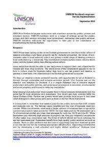 thumbnail of Barclay Implementation Response September 2018