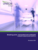 Braking point hospital porters