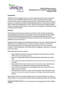 thumbnail of Building standards compliance and Fire safety September 2018 (1)