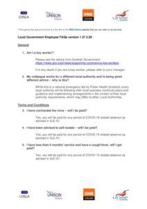 thumbnail of COSLA-SJC Coronavirus FAQs v1 270320