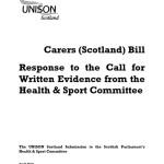 Carers (Scotland) Bill