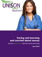 CaringLearning+WorriedAboutMoney_UNISONScotlandStudentNurseSurvey_June2015-thumbnail