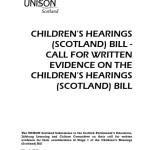 Children's Hearings (Scotland) Bill Response
