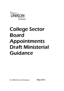 thumbnail of CollegeSectorBoardAppointments_SubmissiononDraftMinisterialGuidance_May2014