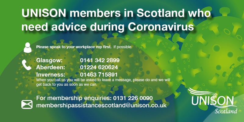 CORONAVIRUS ALL MEMBERS: How to contact us
