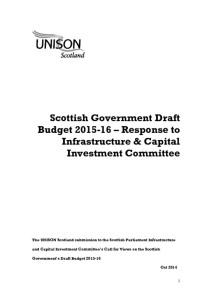 thumbnail of DraftBudget2015-16_ResponsetoSPInfrastructure+CapInvestmentCtte_Oct2014