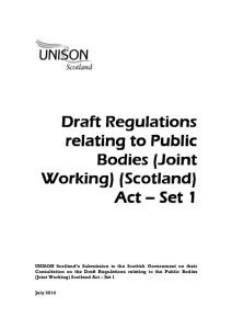 thumbnail of DraftRegulationsPublicBodiesJointWorkingAct_Set1_ResponsetoScotGovt_Jul2014