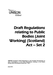 thumbnail of DraftRegulationsPublicBodiesJointWorkingAct_Set2_ResponsetoScotGovt_Jul2014