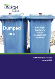 Dumped on - waste management staff speak out