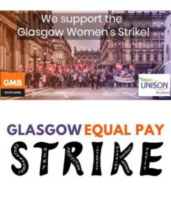 EPSU supports Glasgow women