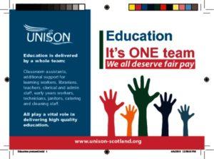 thumbnail of Education postcard print