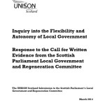 Inquiry into the Flexibility and Autonomy of Local Government
