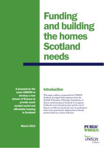 FundingAndBuildingTheHomesScotlandNeeds_Mar2013-thumbnail