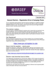 thumbnail of General Election – Registration Drive and Campaign Rules