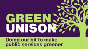 Green UNISON Week - building for Sat 6 Nov COP26 demo