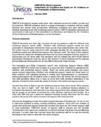 thumbnail of Guidance on the Presumption of Mainstreaming feb 2018