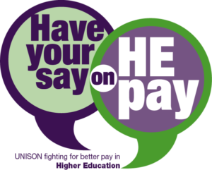 Have your say on HE pay