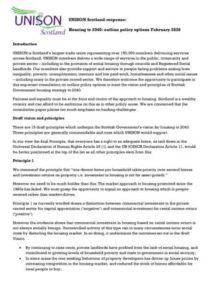 thumbnail of Housing to 2040 Consultation Response_28 Feb