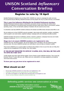 thumbnail of Influencers voter registration