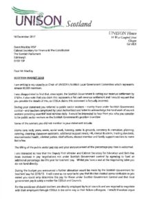 thumbnail of Letter 18 Dec 2017 to Cabinet Secretary for Finance