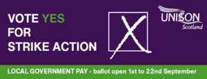 Local government pay ballot 2021