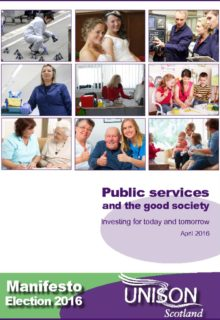 thumbnail of Manifesto public services and the good society 2016