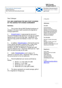 thumbnail of NHS Circular – PCS(AFC)2021-2 – Pay for Agenda for Change Staff