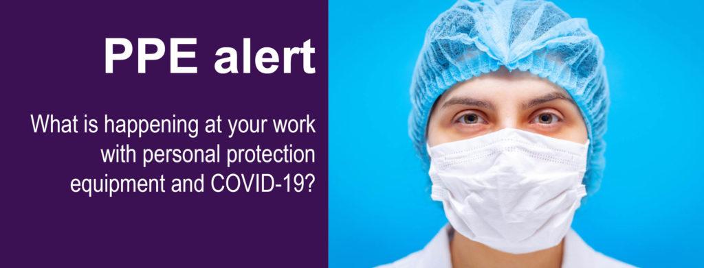 PPE alert web slider 300