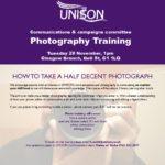 thumbnail of Photographs training advert