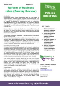thumbnail of Policy briefing 88 – business rates reform