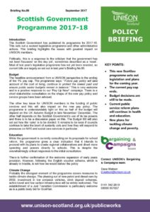 thumbnail of Policy briefing 89 – ScotGov programme 2017