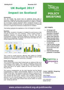 thumbnail of Policy briefing 91 – UK budget 2017