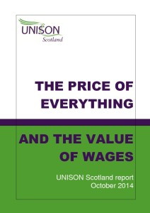 The price of everything and the value of wages