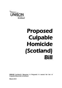 thumbnail of ProposedCulpableHomicideBill_Response_Mar2015