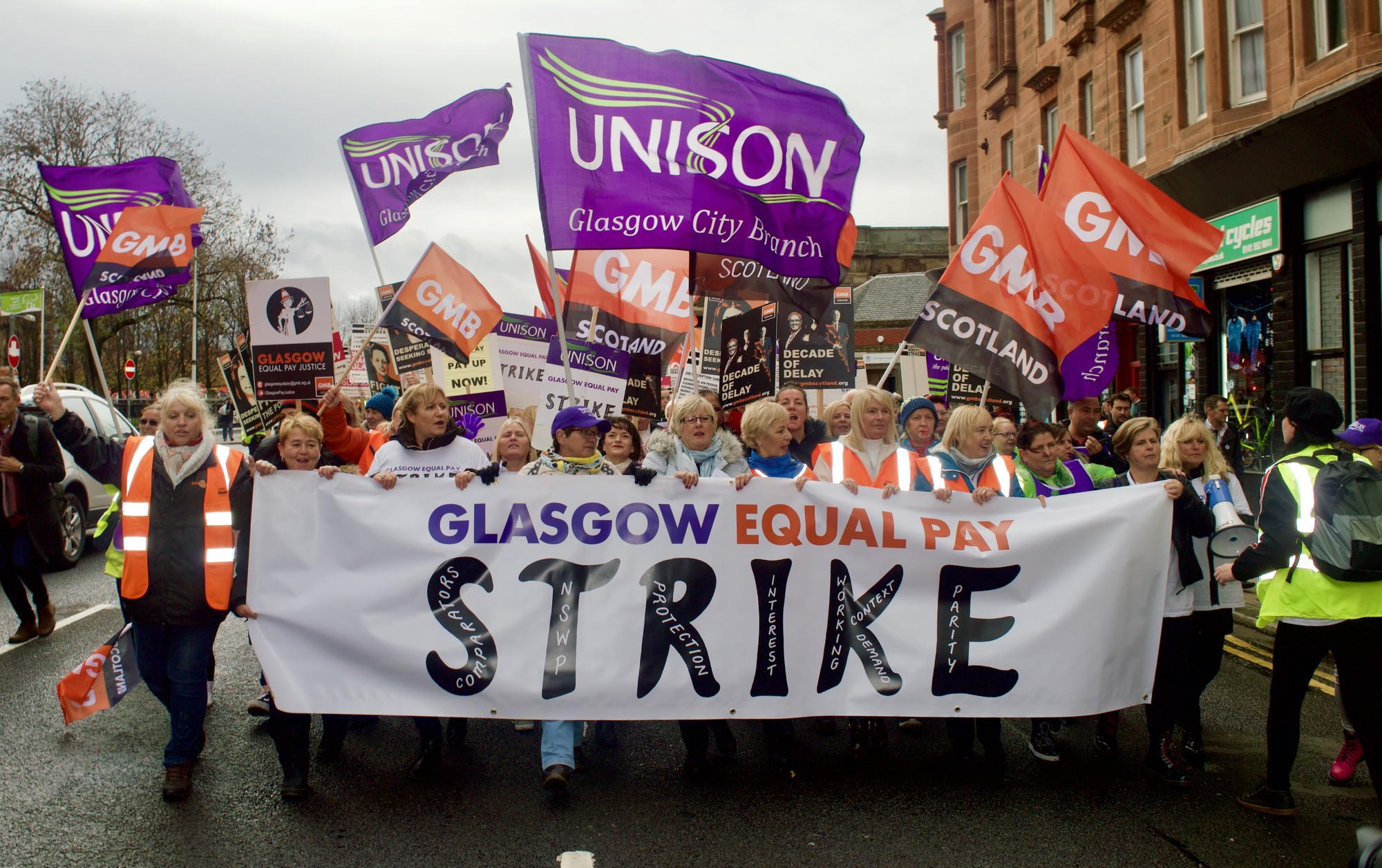 Equal Pay Deal in Glasgow