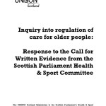 Inquiry into regulation of care for older people
