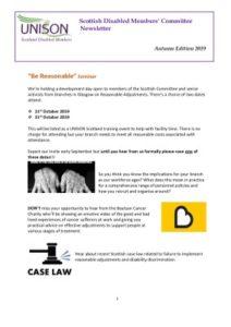thumbnail of SDMC Newsletter Autumn Edition 2019