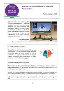 thumbnail of SDMG Newsletter Winter Edition 2018