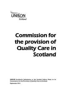 thumbnail of SLPCommission_ProvisionofQualityCareinScotland_Sep2014