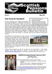 thumbnail of Scot Pensions bulletin 60 – May 2021