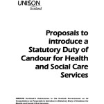 Statutory Duty of Candour for Health and Social Care Services