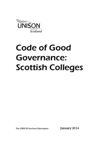 thumbnail of ScottishCollegesCodeofGoodGovernance_UNISONSubmission_Jan2014