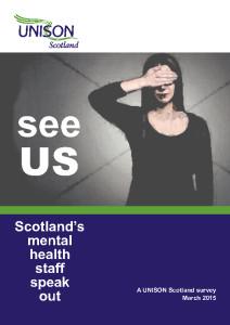 Mental health staff speak out