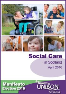 thumbnail of Social care in Scotland