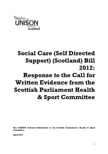 thumbnail of SocialCareBill evidenceHealthcommitteeApril2012