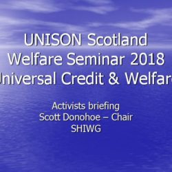 Universal Credit & Welfare Briefing