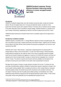 thumbnail of UNISON Scotland Energy Efficiency Response April 2020